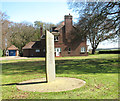 TF7934 : RAF memorial at Bircham Newton by Evelyn Simak