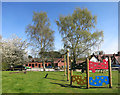 SJ5170 : Kid's Playground at The Goshawk by Des Blenkinsopp