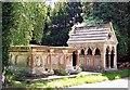 TF0621 : Memorials at Edenham church near Bourne, Lincolnshire by Rex Needle