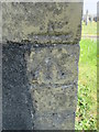 SS2606 : Ordnance Survey Cut Mark by Adrian Dust