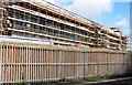 J3272 : New stands, Windsor Park, Belfast - April 2015(2) by Albert Bridge