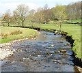 SD9057 : The River Aire by Gordon Hatton
