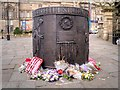 SJ3490 : Hillsborough Memorial, Old Haymarket Street by David Dixon