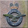 TF7934 : RAF memorial at Bircham Newton (detail) by Evelyn Simak