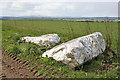NJ8844 : Auchmaliddie Recumbent Stone Circle (1) by Anne Burgess