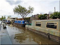 SJ9494 : Adamson's Wharf by Gerald England