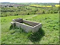 SK3398 : Animal drinking trough in Westwood Country Park by Neil Theasby