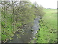 NS9965 : The River Almond at Blackburn by M J Richardson