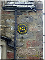 NJ1618 : National Cyclists Union sign on the Glen Avon Hotel, Tomintoul by Oliver Dixon