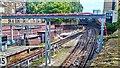 TQ2579 : Underground Rail Tracks near High Street Kensington by PAUL FARMER