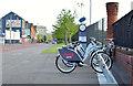 J3473 : Belfast Bikes at The Gasworks (May 2015) by Albert Bridge