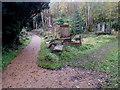 ST6071 : SW corner of  Arnos Vale Cemetery, Bristol by Jaggery