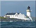 NM7212 : Fladda Lighthouse by Anne Burgess