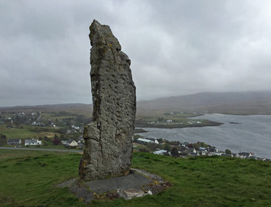 NG2547 : The Duirinish Stone by John Allan