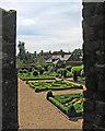 TL1967 : Buckden Palace: the knot garden by John Sutton