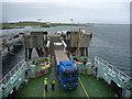 NM0445 : Coastal Argyll : Linkspan At Scarinish, Island Of Tiree by Richard West