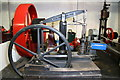 TM0780 : Bressingham Steam Museum - small beam engine by Chris Allen
