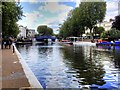 TQ2681 : Browning's Pool, Little Venice by David Dixon