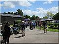 SJ8157 : Farmers Market at Rode Hall by Kat Rennie-Holmes