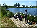 TF1807 : Pond dipping by Bob Harvey