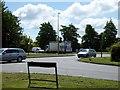SJ6758 : Road junction near Bradfield Green by Philip Platt