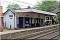 SJ8478 : Station building, Alderley Edge railway station by El Pollock