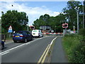 TL2167 : Level crossing on Station Lane, Offord Cluny by JThomas