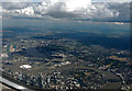 TQ3779 : Docklands from the air by Thomas Nugent