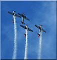 TA3208 : Yak aircraft display team by Steve  Fareham