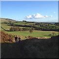SJ9765 : Heading southwest from Hangingstone Farm above Danebridge by Robin Stott