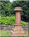 SK5641 : Church (Rock) Cemetery: the grave of Watson Fothergill by John Sutton