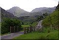 SH6461 : Cattle grid, Nant Ffrancon : Week 26