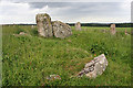 NO9096 : Aquhorthies Recumbent Stone Circle (11) by Anne Burgess