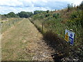 TL0599 : New footpath around Cook's Hole Quarry, Wansford by Richard Humphrey