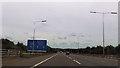 SJ9304 : M54 approaching junction 1 by John Firth