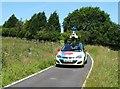 SK2884 : Google Streetview Vehicle on Bassett Lane by Neil Theasby
