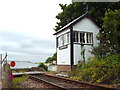NH6446 : Clachnaharry signal box, Inverness by Malc McDonald