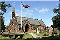 SJ4974 : St John the Evangelist's Church, Alvanley by Jeff Buck