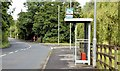 J4880 : Bus stop and shelter, Rathgael Road, Bangor (July 2015) by Albert Bridge