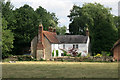 SP6408 : Old house in the middle of Worminghall by Des Blenkinsopp