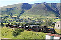 NY3224 : Threlkeld Quarry & Mining Museum - Six visiting locomotives by Chris Allen