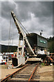 NY3224 : Threlkeld Quarry & Mining Museum - preparing the navvy by Chris Allen