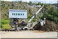 NY3224 : Threlkeld Quarry & Mining Museum - Ruston steam Navvy by Chris Allen
