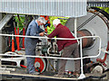 NY3224 : Threlkeld Quarry & Mining Museum - clutch trouble by Chris Allen