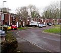 ST2996 : Western edge of Glaslyn Court, Croesyceiliog, Cwmbran by Jaggery