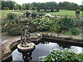 TL0892 : Pond and garden at Elton Hall by Richard Humphrey