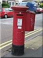 TQ3091 : Edward VII postbox, Truro Road / Clarence Road, N22 by Mike Quinn