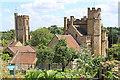 ST4916 : Montacute church and Abbey Farm : Week 30