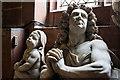 SJ5562 : St Helen's church, Tarporley - monument to Sir John Crewe (2) by Mike Searle