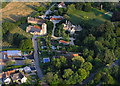 SP4401 : Aerial View of Appleton: Church & Manor : Week 32